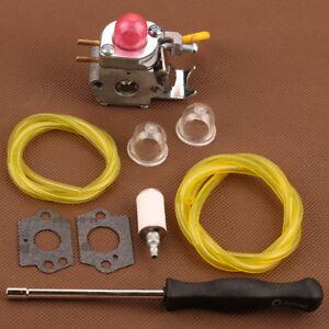 Carburetor-Trimmer-Kit-For-Poulan-Weed-Eater-Featherlite-FL20-FL20C-FL25C-FL26