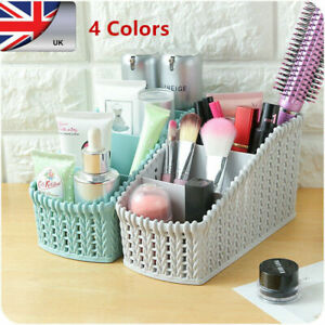 Storage-Plastic-Basket-Kitch-Box-Bin-Cloth-Container-Home-Laundry-Organizer-UK-b