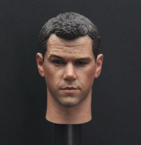 "Custom 1//6 Scale Matt Damon Head Sculpt The Martian for 12/"" Male Figure Body"
