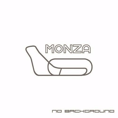 Monza Race track Decal Sticker Euro Racing JDM Italy Fiat Alfa Romeo F1 Pair