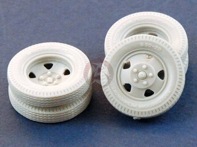 Jaroslavskij Zavod PANZER ART RE35-239 SCALE 1//35 Road Wheels for GAZ-AAA
