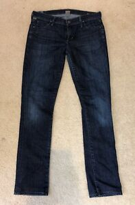 Citizens-of-Humanity-Ava-Low-Rise-Straight-Leg-Jeans-Womens-Size-27