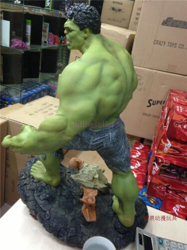 """Super Giant Size Marvel The Hulk Green Giant Figure Statue 25/"""" 1//4 Scale New Toy"""