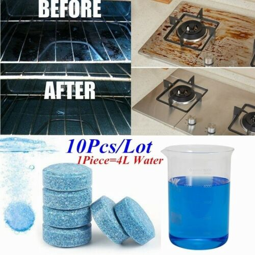 10 Pcs Water Multifunctional Effervescent Spray Cleaner Concentrate Clean Spot