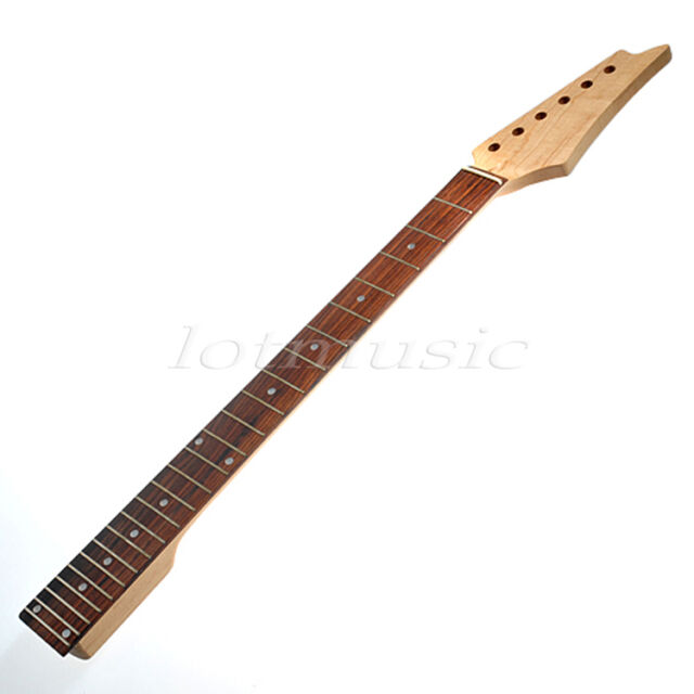 Electric Guitar Neck for Maple Square Heel Fretboard 24 Fret
