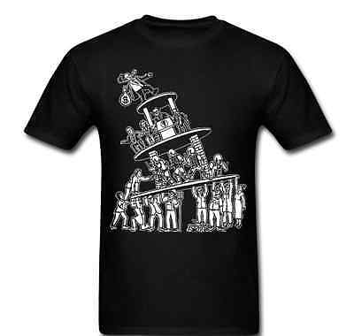 Anarchy Tower revolution wealthy on top class change  life Tee t-shirt unisex