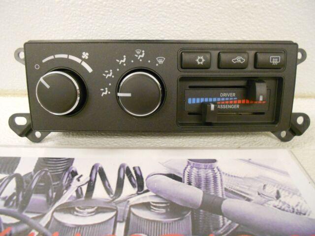 A/c and Heater Control Switch Mopar 55057080aa Fits 08-09 Dodge RAM 2500  5 7l-v8