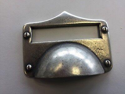 5 X Rustic Pewter Kitchen Door Cup Handles