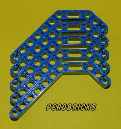 Lego Technic Technik 5 Liftarme doppelt gebogen #32009 blau