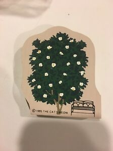Cat's Meow Flower Tree Cm256, Wood Block Toy Train Table Accessory Scenery