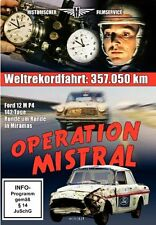 DVD Operation Mistral Ford 12 M P4 Nonstop-Langstrecken-Weltrekordfahrt Miramas