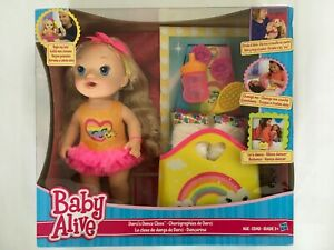 Baby Alive Darci/'s Dance Class Blonde Hair Doll by Hasbro