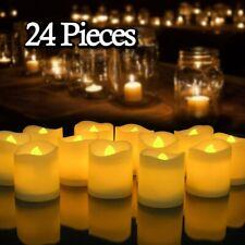 Idena 6 Stück LED Teelichte Fernbedienung Teelichter Kerzen flackernd Kerzenset