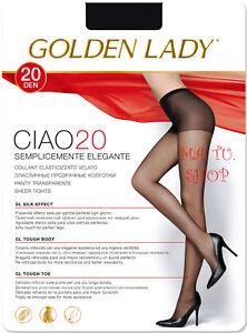 20 DEN Pacco da 3 Donna GOLDEN LADY Collant