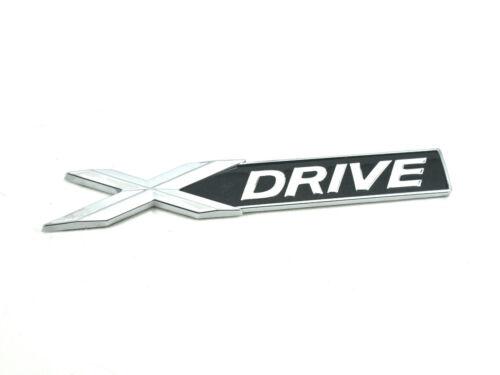 Genuine New BMW X Drive badge coffre arrière Emblème Pour 1 F20 2 3 F30 4 5 Série 6