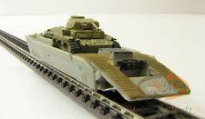 DRG Panzerwaggon Güterwagen mit Panzer II Panzerfahrzeug Ep II Spur N 1:160