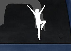Contour-Silhouette-Dancing-Woman-Girl-Version-3-Shadow-Car-Tablet-Vinyl-Decal