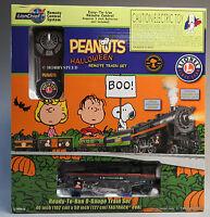 Lionel 6-30214 Peanuts & Gang Halloween Train Set MIB O 027 New 2013 RC 2-4-2 TS Toys