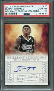 2012-13-panini-brilliance-brilliant-beginnings-auto-26-ISAIAH-THOMAS-rc-PSA-10