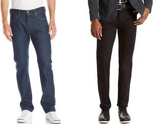 Levis-501-Jeans-Mens-Big-amp-Tall-Original-Fit-Straight-Leg-Button-Fly-Denim
