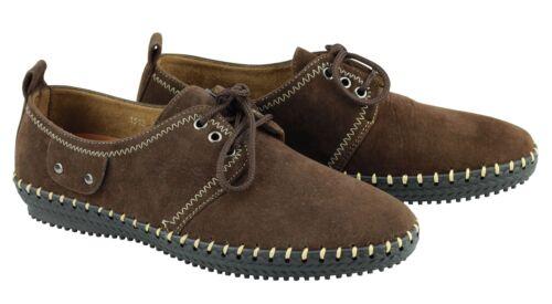 similicuir à à foncé caoutchouc Chaussures bout en brun rond en semelle 7C4w8q6