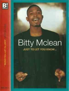 Bitty Mclean-Just To Let You Know (US IMPORT) CASS NEW