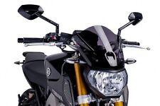 Puig Naked New Generation Windscreen 2014 2015 Yamaha FZ 09 Dark Smoke / 6859F
