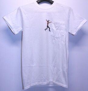 6c93691ea0a1 Travis Scott x Virgil Abloh Astroworld Jordan 4 Cactus T-Shirt Men s ...