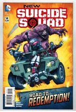 NEW SUICIDE SQUAD #14 - JUAN FERREYRA COVER - DC COMICS - 2015