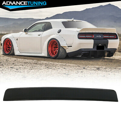 2009 2010 2011 2012 2013 Factory Style Unpainted ABS Car Exterior Rear Trunk Spoiler Tail Roof Deck Lid Lip Wing IKON MOTORSPORTS Trunk Spoiler Compatible With 2008-2020 Dodge Challenger