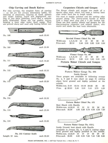 Frank Mitermeier Gunsmith Tools 1964
