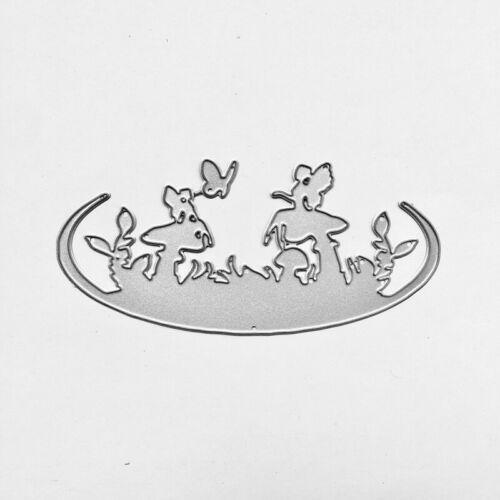 Stanzschablone Pilze Fee Elfe Oster Hochzeit Geburtstag Weihnachten Karte Album