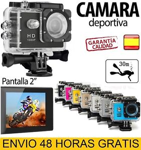 Camara-deportiva-2-034-full-HD-1080P-sumergible-acuatica-30m-accesorios