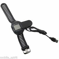 Usb Charging Charger Cable Clip For Garmin Forerunner 405cx 405 910xt 310xt