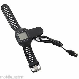 New USB Charging Charger Cable Clip for Garmin Forerunner 405CX 405 910XT 310XT | eBay