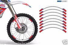 Rim Trim Kit For Honda GROM CR CRF CRM XR MX Dirt Bike Decals Racing Stickers LO