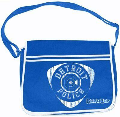 Analitico Robocop Detroit Police Blue Messenger Bag Borsa A Tracolla Phm