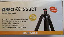 NEW VANGUARD Abeo Plus 323Ct Carbon Fiber Tripod 26 3/8 - 70 7/8 Inches