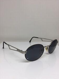 New-Vintage-Sergio-Tacchini-Sunglasses-ST-1039-Sunglasses-C-Silver-amp-Black