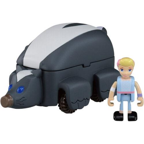 Takara Tomy Tomica Disney Toy Story 4 Rideon TS-02 Bo Peep /& Skunk Car