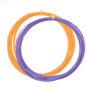 72A7 Badminton Racket String Replacement 0.75mm Gauge 10M Colorful Useful NEW