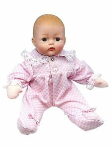 Pink-Check-Huggums-12-039-039-Baby-Doll-by-Madame-Alexander-New