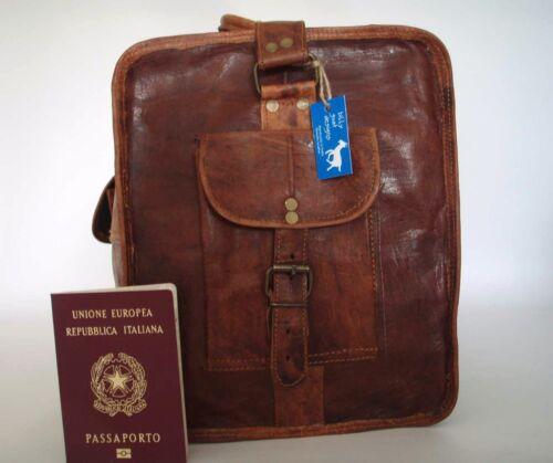 """Handmade Goat Leather 24/"""" Duffel Sports Gym Bag DL//R Travel Billy Goat Designs"""
