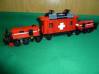Lego Treno di Natale Eisenbahn Lok Locomotiva Nuovo Sacchetto Plastica New