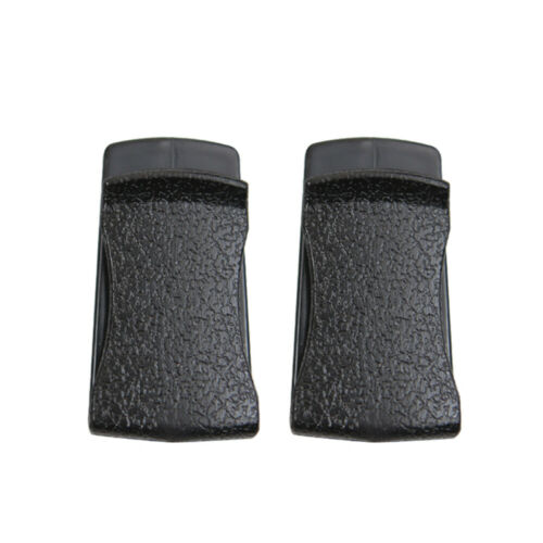 2x Car Interior Accessory Leather Clip Holder Stickers For Handbags Card Glasses
