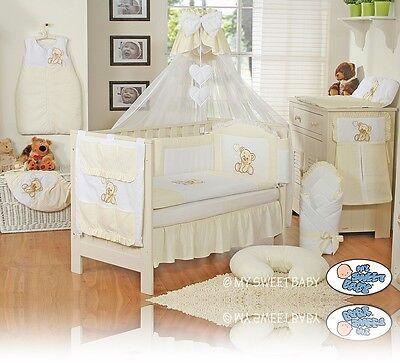 set XXL de 16 pièces set complet My sweet Baby Lit pour bébé