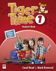 Tiger Time 1: Student's Book + Sticker + Online Resource Centre von Carol Read und Mark Ormerod (2016, Set mit diversen Artikeln)