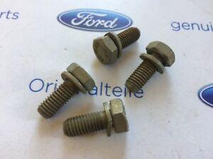 Ford-Sierra-MK1-XR-RS-nuevo-original-Ford-PUERTA-Comprobar-Correa-Pernos-x4