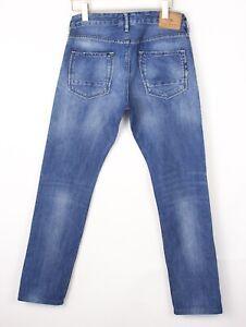 Scotch & Soda Hommes Ralston Slim Jeans Coupe Droite Taille W31 L32 BEZ416