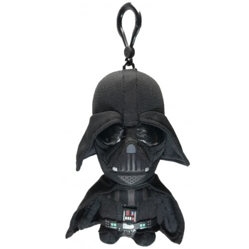 "STAR WARS DARTH VADER 4/"" TALKING PLUSH WITH CLIP NEW GREAT GIFT"